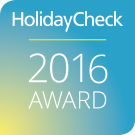 HolidayCheck Award 2016